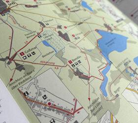 Radtour 1 - Karte