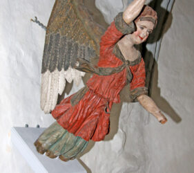 Cahnsdorf, Taufengel