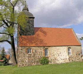 Kirche Egsdorf, außen