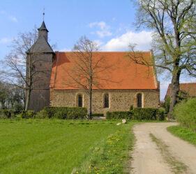Kirchen Frankendorf, außen