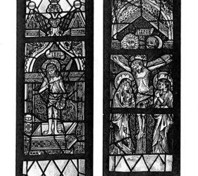 Kirche Frankendorf, spätgotische Ostfenster