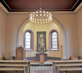 Kirche Freiwalde, innen