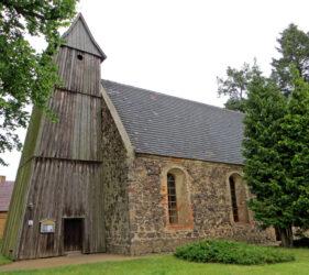 Kirche Gahro, außen