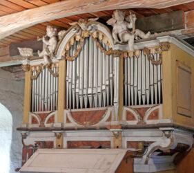 Kirche Gahro, Orgel
