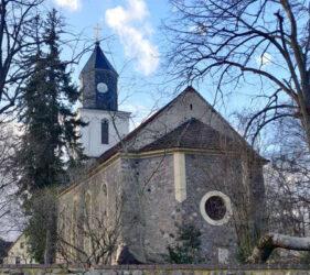 Kirche Gehren, außen