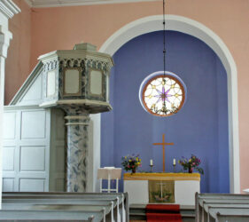 Kirche Gehren, innen