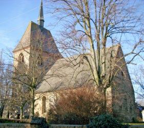 Kirche Gießmannsdorf, außen