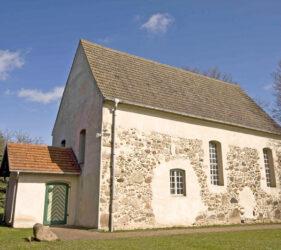 Kirche Görsdorf, außen