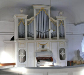 Kirche Golßen, Orgel