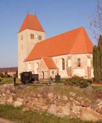 Kirche Goßmar bei Luckau, außen