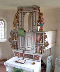 Kirche Goßmar bei Luckau, Altar