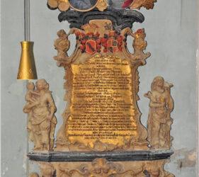 Kirche Görlsdorf, Epitaph Eheleute v. Stammer