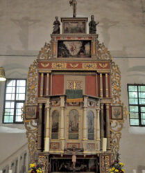 Kirche Goßmar bei Sonnewalde, Altar