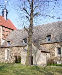 Kirche Goßmar bei Sonnewalde, außen