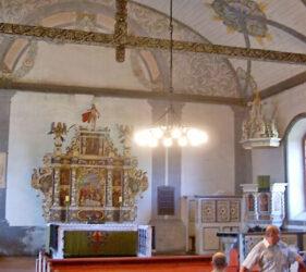 Kirche Groß Leine, innen