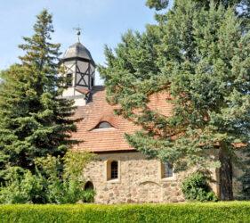 Kirche Großkrausnik, außen