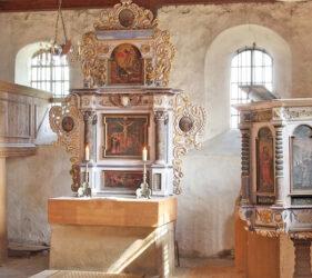 Kirche Jetsch, Altar