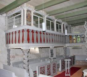 Kirche Kasel-Golzig, Patronatsloge