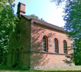Kirche Kemlitz, außen