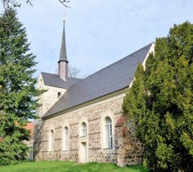 Kirche Langengrassau, außen