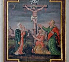 Kirche Liedekahle, Kreuzigung