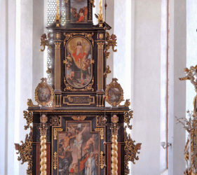 St. Nikolai Luckau, Altar