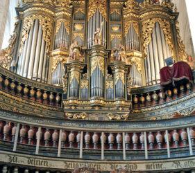 St. Nikolai Luckau, Orgel