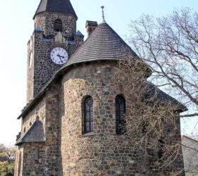 Kirche Mahlsdorf, außen