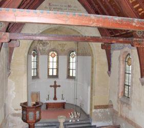 Kirche Mahlsdorf, innen