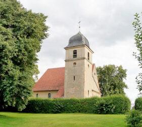 Kirche Niendorf bei Dahme, außen