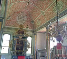 Kirche Niendorf bei Dahme, innen, Blick nach Osten