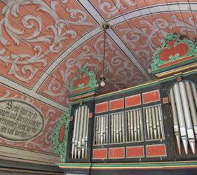 Kirche Niendorf bei Dahme, Orgel