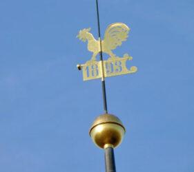Kirche Paserin, Wetterhahn