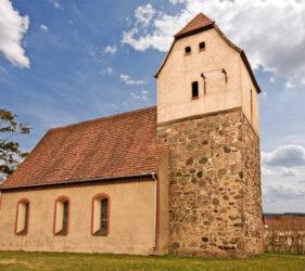 Kirche Prensdorf, außen