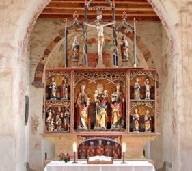 Kirche Riedebeck, Altar