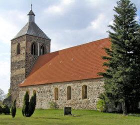 Kirche Schlabendorf, außen