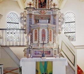Kirche Schönwalde, Altar