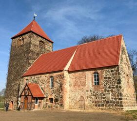 Kirche Terpt, außen