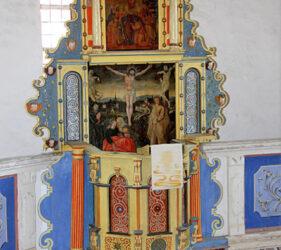 Kirche Terpt, Altar