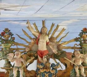Kirche Waldow, auferstandener Christus