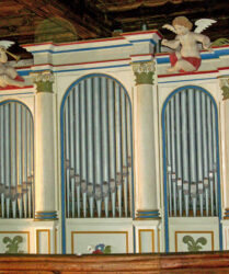 Kirche Wildau-Wentdorf, Orgel