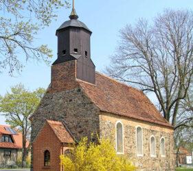 Kirche Wüstermarke, außen