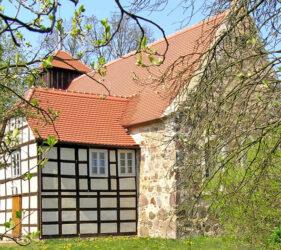 Kirche Zieckau, außen