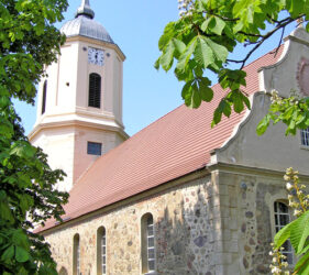 Kirche Zützen, außen