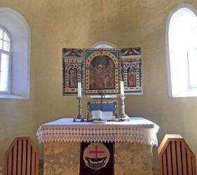 Kirche Rosenthal, Altar
