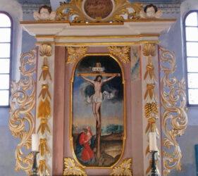 Kirche Wehnsdorf, Altar